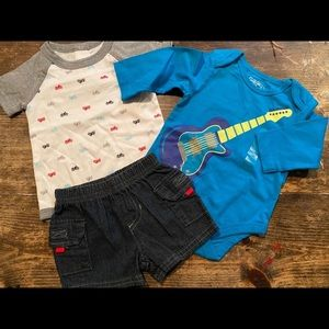 COOL trio for your little dude!